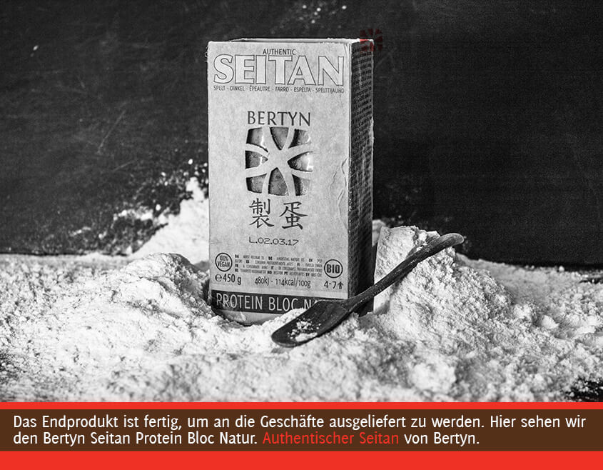 Bertyn Seitan Verpackung