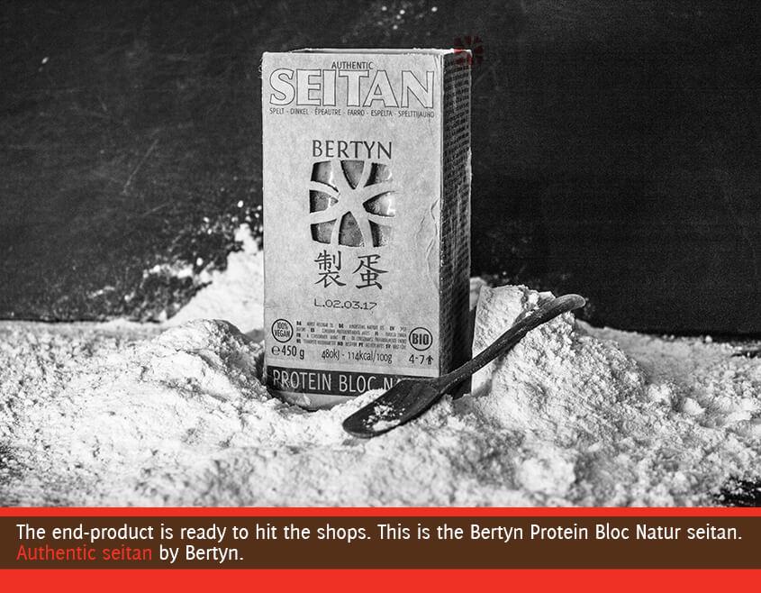 Bertyn seitan packaging