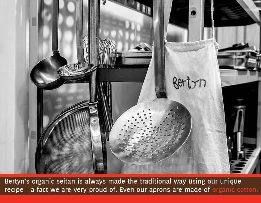 kitchen equipment in the kitchen of Bertyn