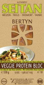 Bertyn Veggie Protein Seitan Bloc: 550g - Tarwe