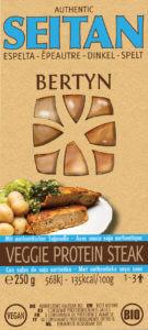 Bertyn Veggie Protein Seitan steak: 250g