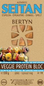 Bertyn Veggie protein bloc: 550g - spelt