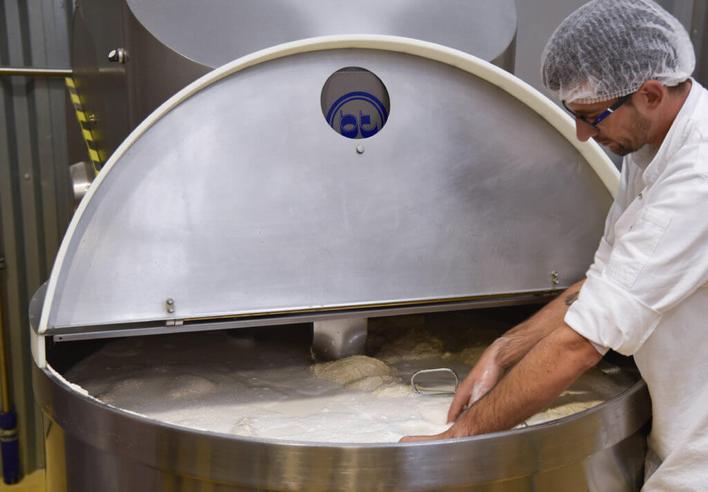 Het productie proces van seitan uitgelegd bij Bertyn.