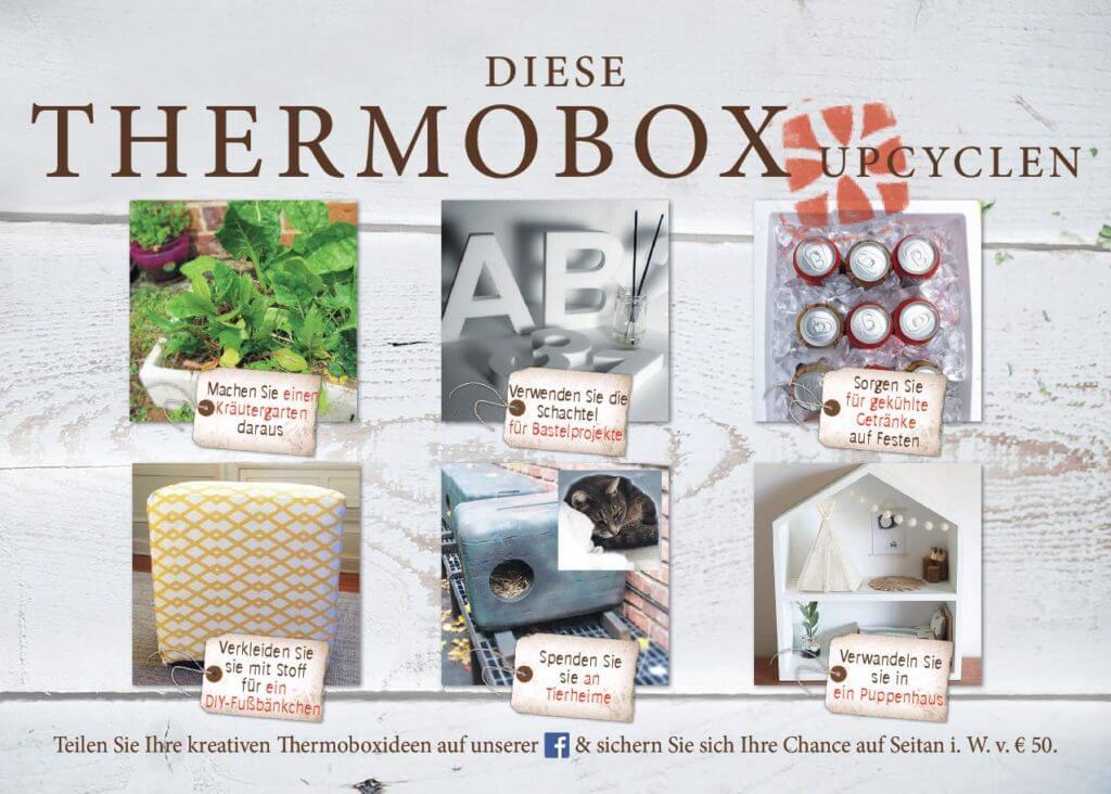 6 Ideen, um Ihre Thermobox zu recyceln.