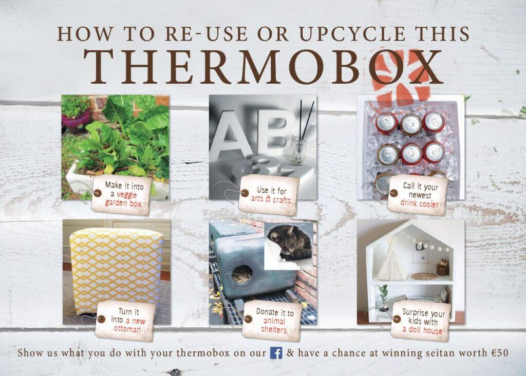 6 ideas to recycle your thermobox.