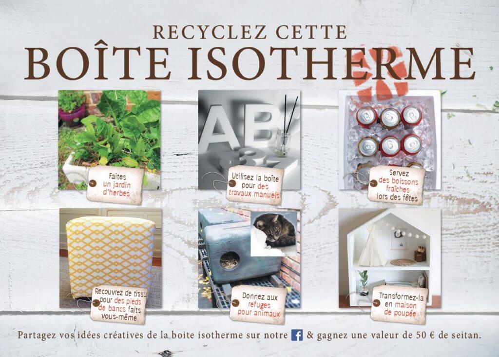 6 idées pour recycler votre thermobox.