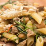 Heerlijke pasta met kikkererwten