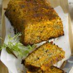 Vegetarisch gehaktbrood van Seitan