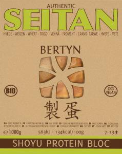 Packshot: Shoyu Seitan Protein Bloc Tarwe - 1000g