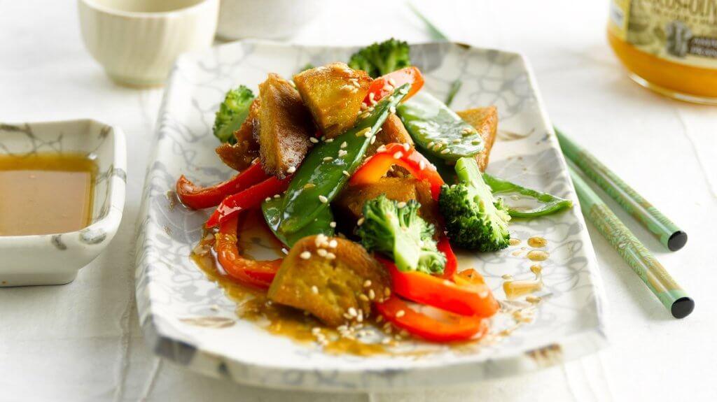 Seitan pour faire un repas végétarien