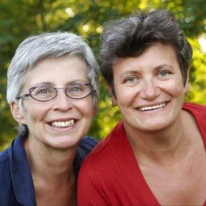 Miki Duerinck en Kristin Leybaert