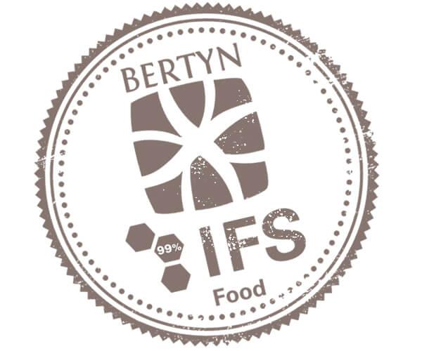 Bertyn's IFS Food certificate