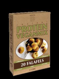 3D verpakking Instant Protein Veganmix - Falafels van Bertyn