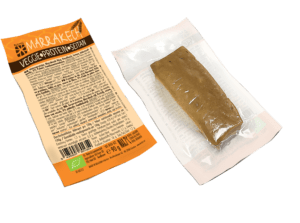 Veggie Protein Seitan – Marrakech – 3D – front and back