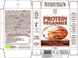 Instant Protein Veganmix – Pannenkoeken – Etiket