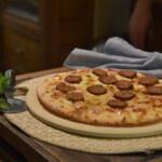 recept voor eiwitrijke, koolhydraat arme worst voor op vegan pizza