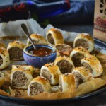 veggie sausage roll recipe with seitan from Bertyn
