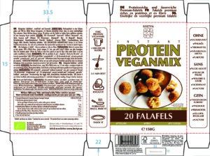 Instant Protein Veganmix – Falafels – Etiket